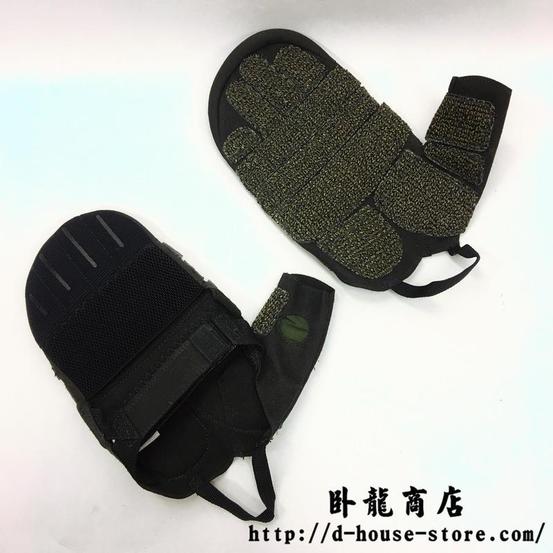 中国人民武装警察 武警特戦 懸垂下降(けんすいかこう)ロープ降下用グローブ