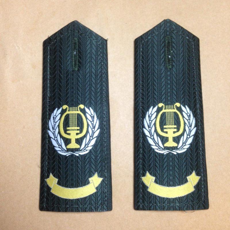 中国人民解放軍07式文工団 夏制服用肩章 陸 海 空