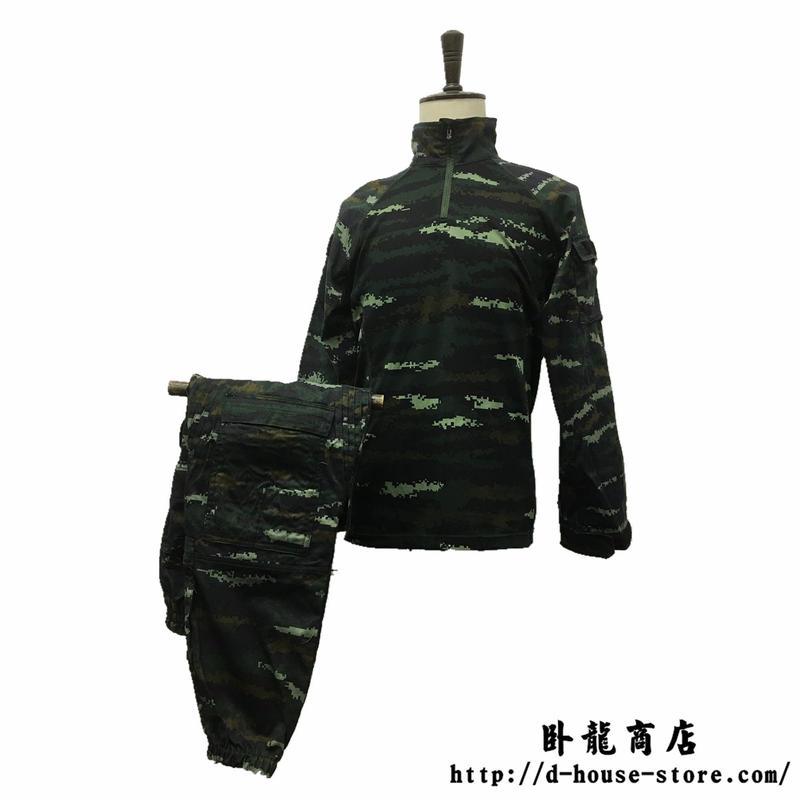 中国武装警察 武警特戦 13式迷彩作戦服(夏) 武警