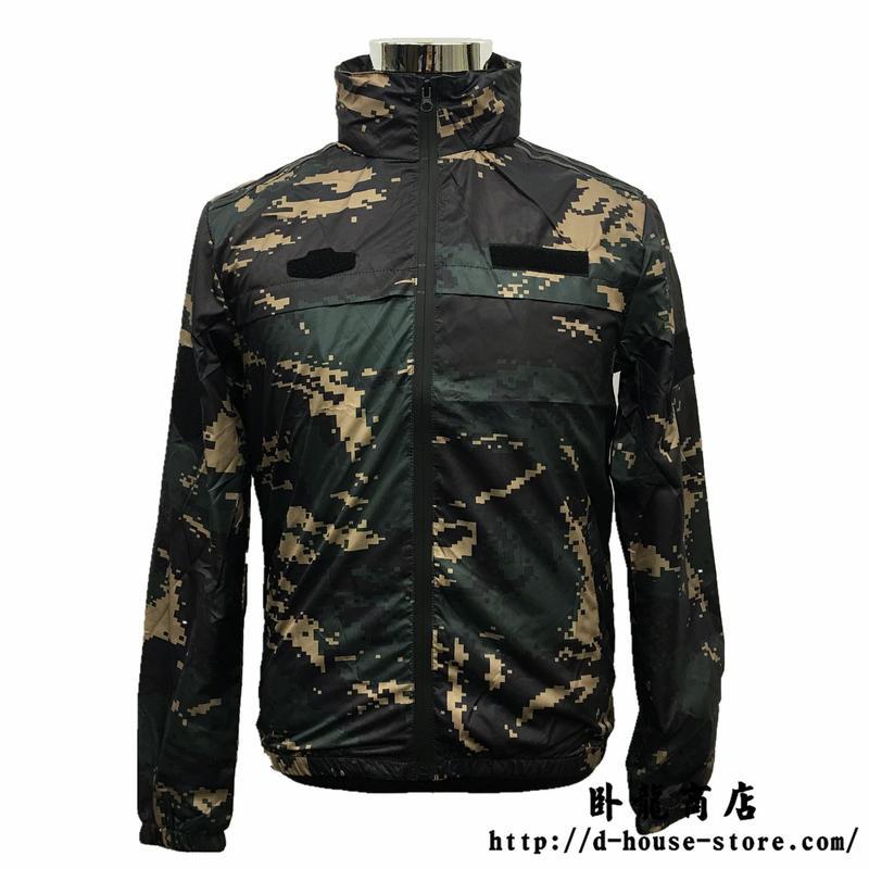 中国人民解放軍 07式特種兵猟人迷彩ジャケット(ベルクロワッペン4枚付属)