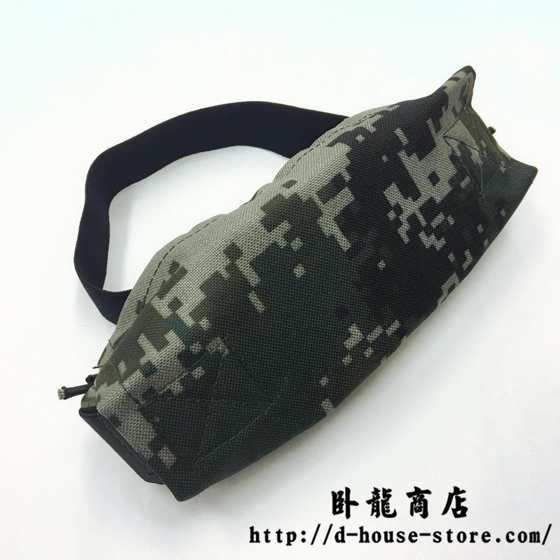 中国人民解放軍 07式 林地迷彩 ナイロン製ゴーグルカバー