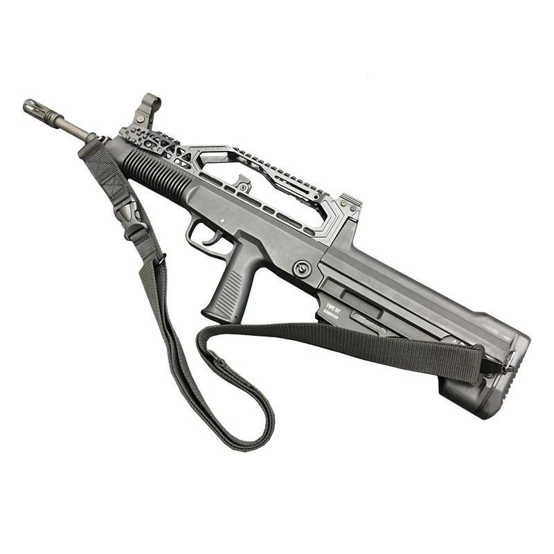 【正規品】長弓(ロングボウ)合金製レール エアガン QBZ-97式自動歩銃用レール付きトップカバー