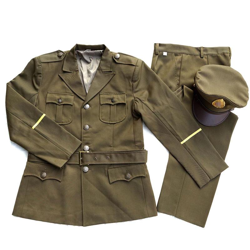 【WW2】中国国軍アメリカスタイル校官制服セット 複製品