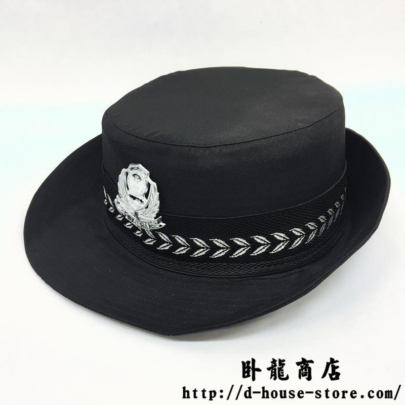 中国人民公安警察 99式婦警 女性警察官用制帽 帽章付き