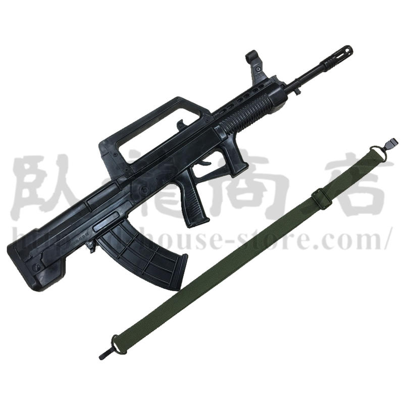 中国人民解放軍 訓練用ゴム製ダミーQBZー95式自動歩銃