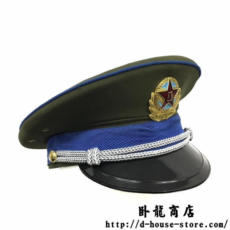 【87式空軍】中国人民解放軍軍官用制帽(帽章付き)