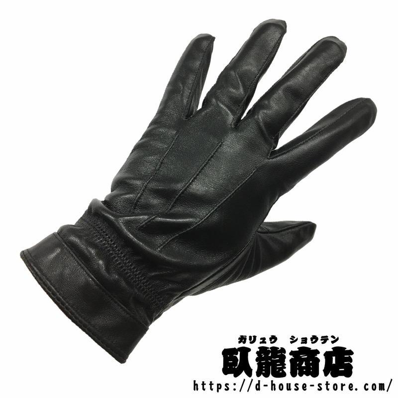【07式】中国人民解放軍 制服用革製手袋 軍官装備 実物