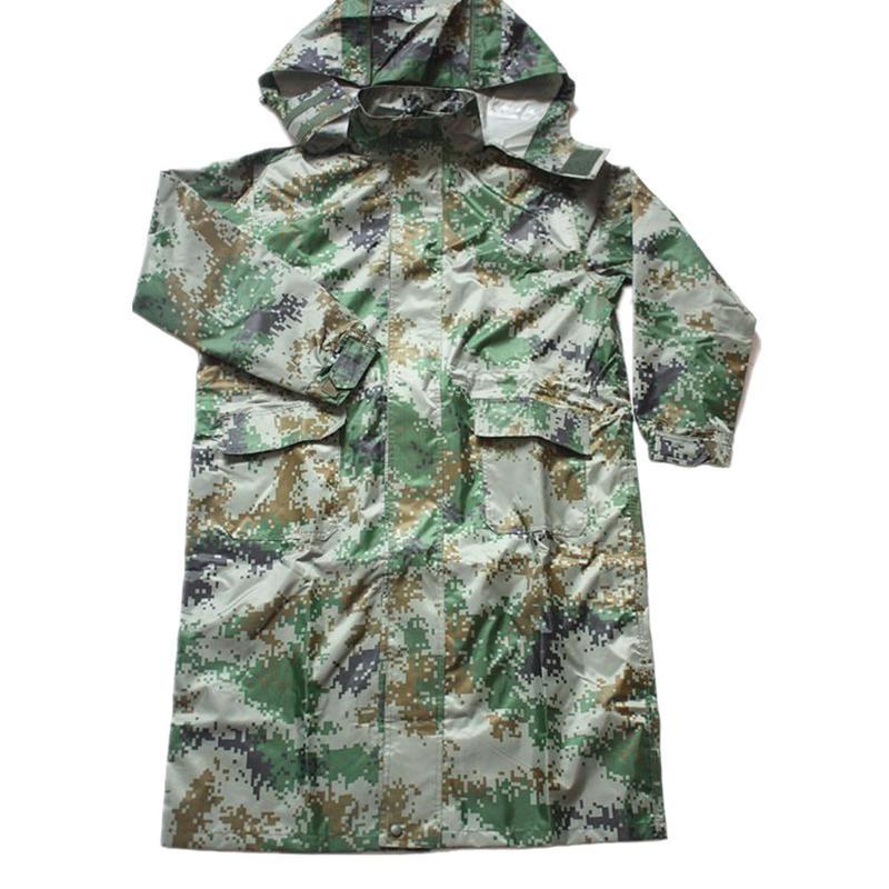 中国人民解放軍陸軍07式夏迷彩レインコート
