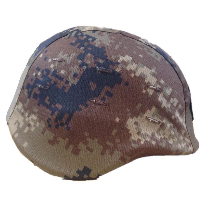 中国人民解放軍07式陸軍 荒漠迷彩 ヘルメットカバー