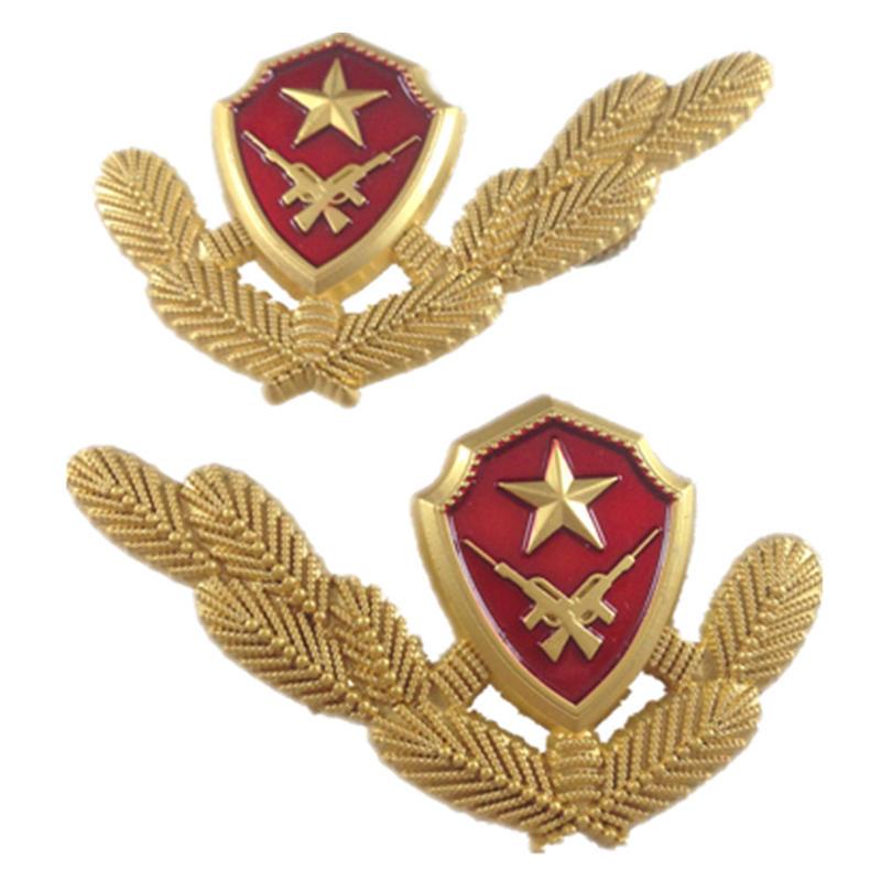 中国人民武装警察07式春秋&冬制服用襟章 兵士用