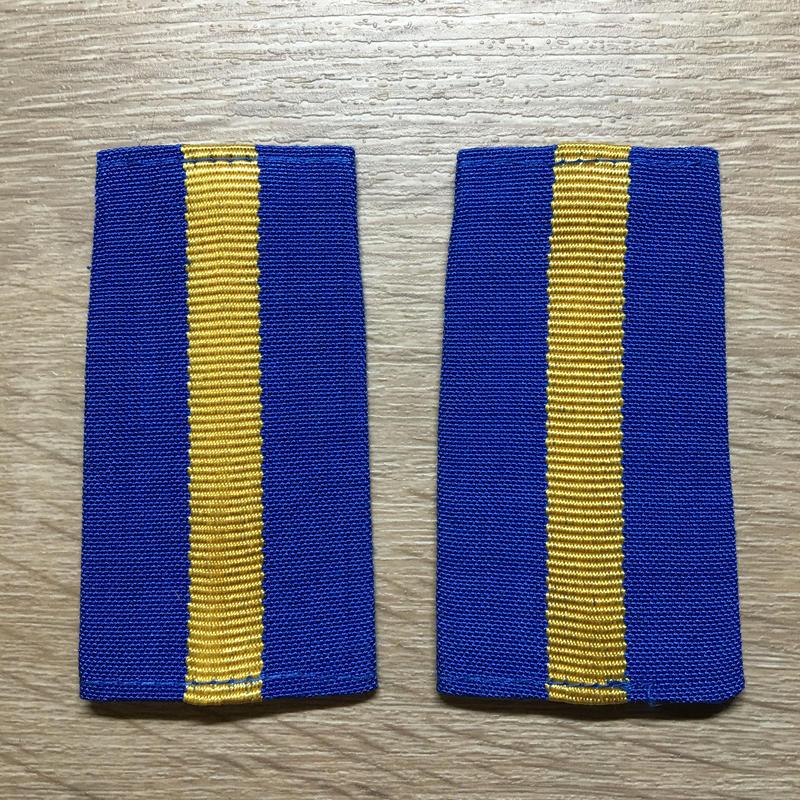 【コレクター商品】中国人民解放軍87式 空軍 専業軍士 筒式肩章