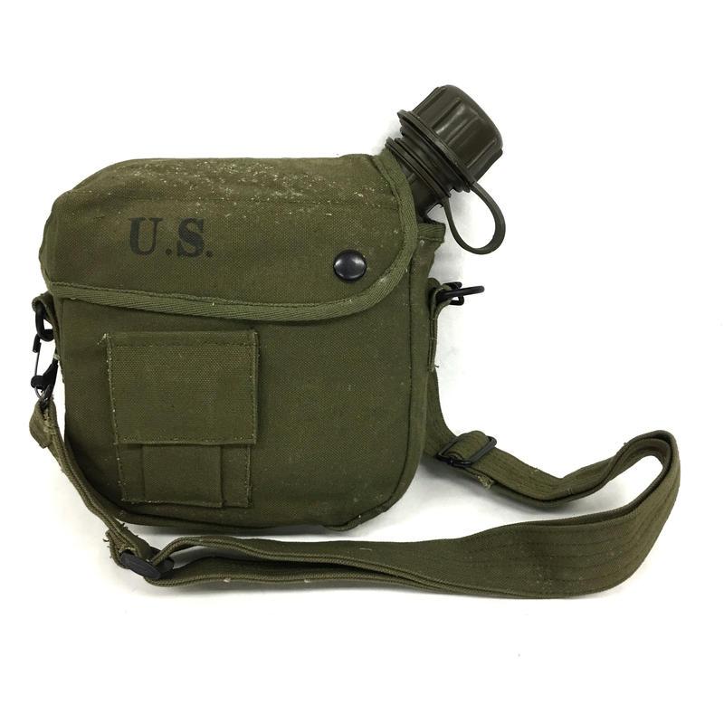 米軍1.5L ABSプラスチック水筒 カバー付き