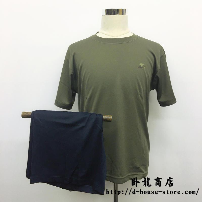 中国人民解放軍 訓練用インナーシャツ Tシャツ 短パン 上下セット