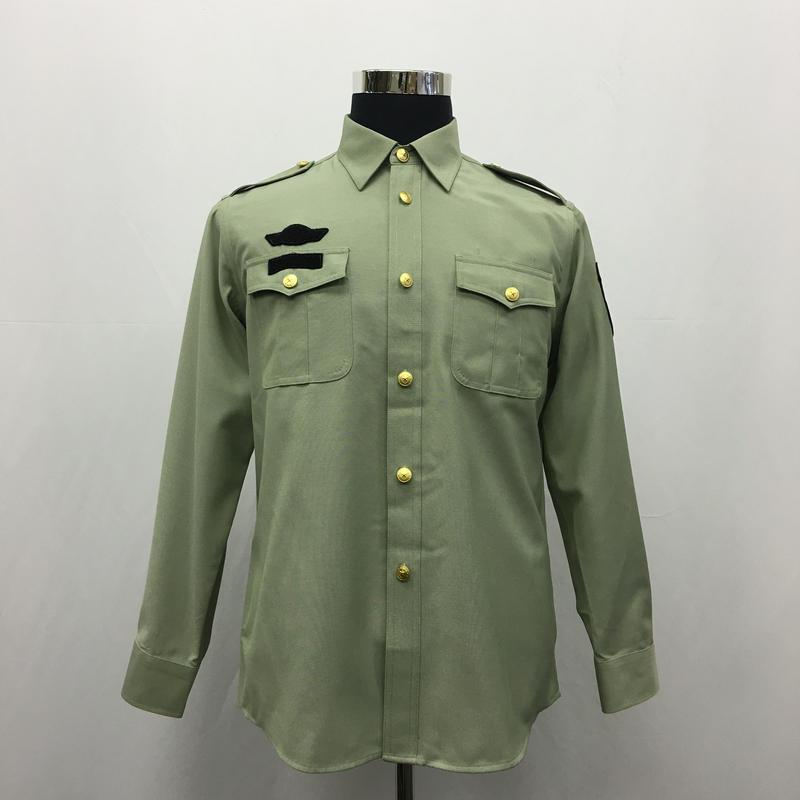 中国人民武装警察 07式武警軍官用夏制服 長袖シャツ単品