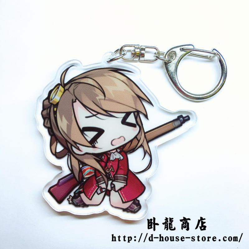 【少女前線】リー・エンフィールド Lee-Enfield 擬人キャラクター キーホルダー