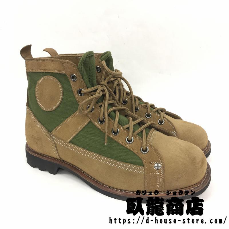 【65式】中国人民解放軍 空降兵ブーツ 複製品 空挺 空軍