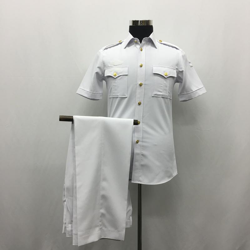 【07式海軍軍官夏半袖】中国人民解放軍 制服上下セット
