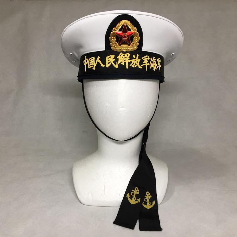 中国人民解放軍07式海軍 水手服用制帽(帽章付き)