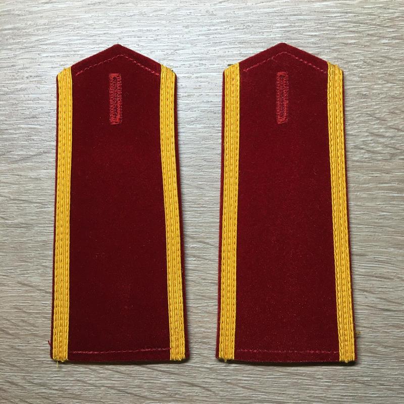 【コレクター商品】中国人民解放軍87式 陸軍 学員 肩章