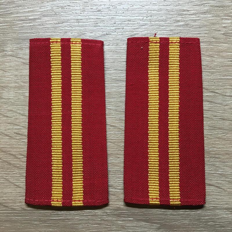 【コレクター商品】中国人民解放軍87式 陸軍 軍士長 筒式肩章