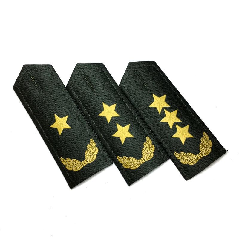【陸軍ー将軍級】中国人民解放軍 07式 夏制服用肩章式階級章