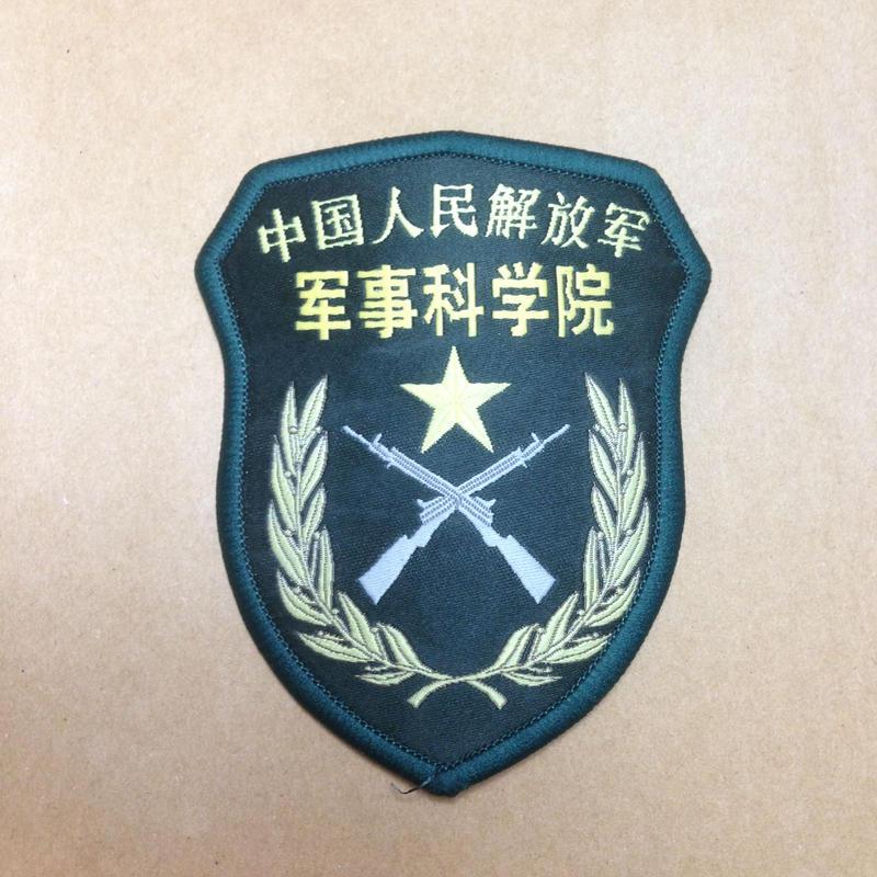 【軍事科学院】中国人民解放軍 07式部隊章