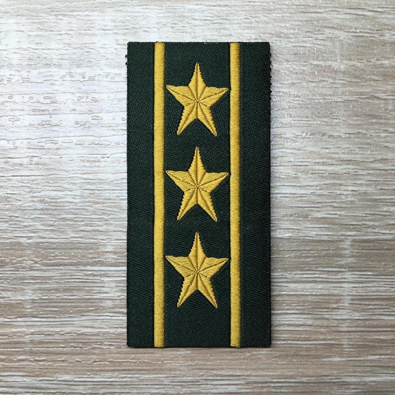 【上校】武装警察特戦&特種兵用 片腕ベルクロ階級章