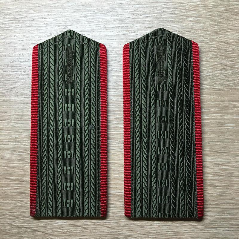 【コレクター商品】中国人民武装警察87式 武警 学員 制服専用肩章