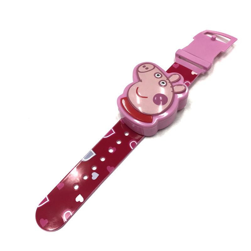 中国製 Peppa Pig 腕時計型 ガム入れ プラスチック製