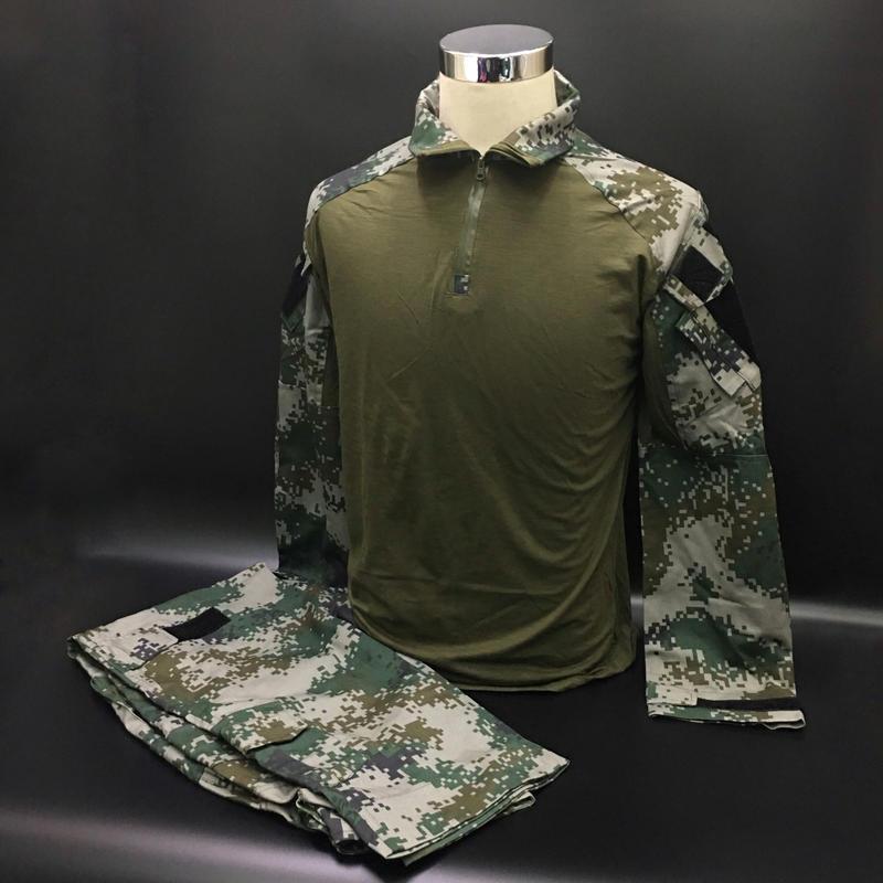 林地迷彩 コンバットシャツ 作戦服上下セット
