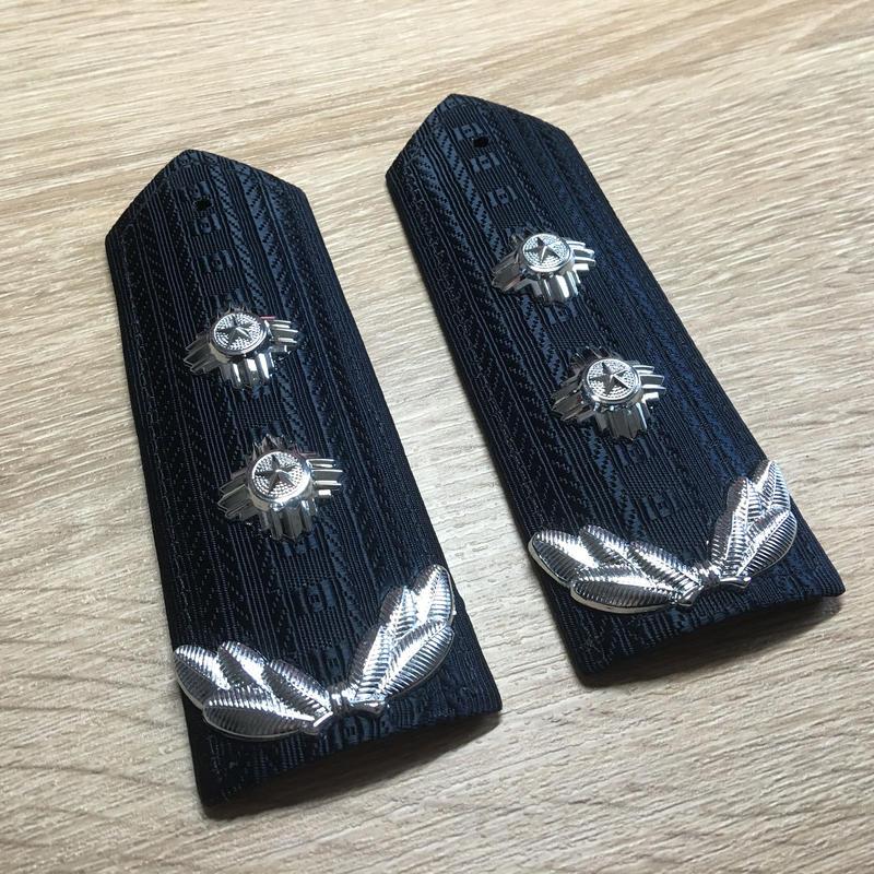 中国人民公安警察 99式 春秋&冬製服用肩章 二級警監