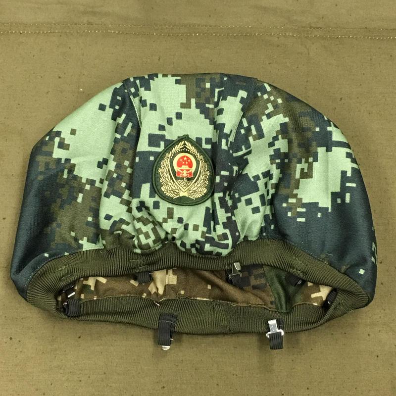 【両面タイプ】武警 16式夏・冬迷彩 QGF03ヘルメット用 ヘルメットカバー 中国人民武装警察