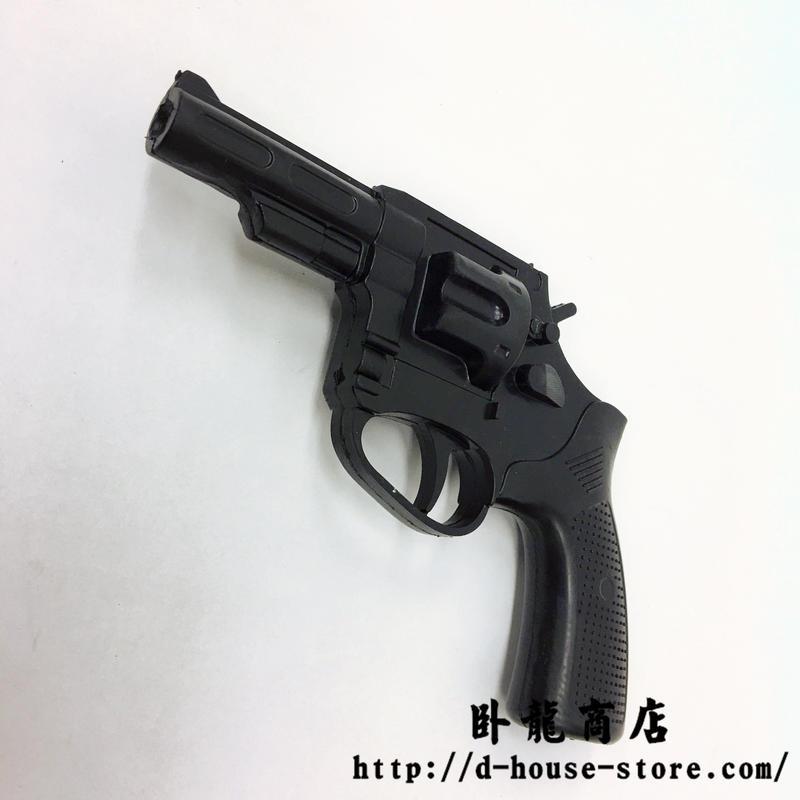 中国2005式警用9mmリボルバー ゴム製ダミー