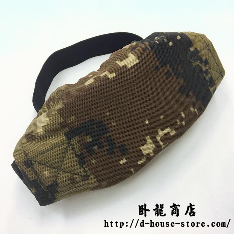 中国人民解放軍 07式 荒漠迷彩 ナイロン製ゴーグルカバー