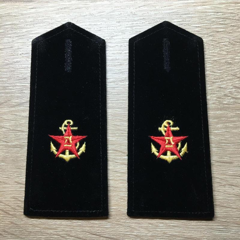 【コレクター商品】中国人民解放軍87式 海軍文職 肩章