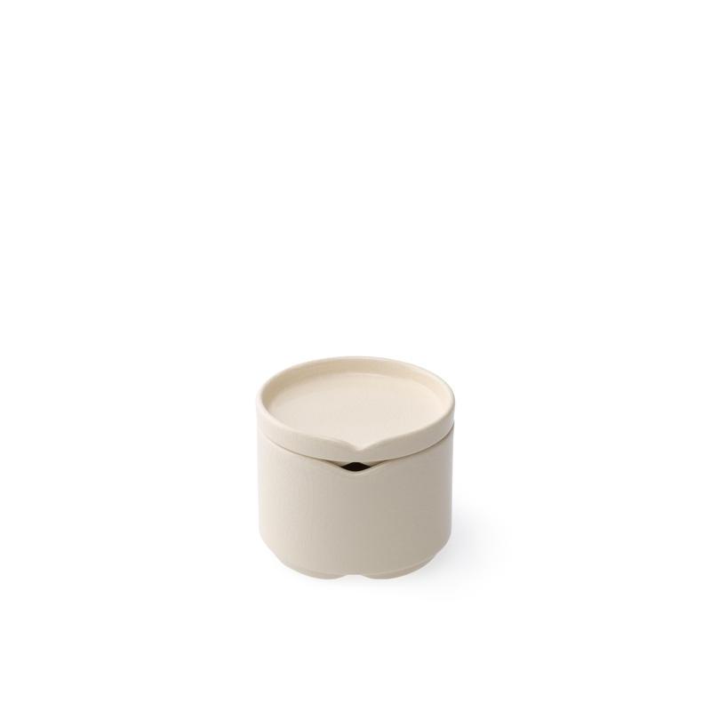 HASU白貫入 蓋付重ね小鉢(THS207OW)