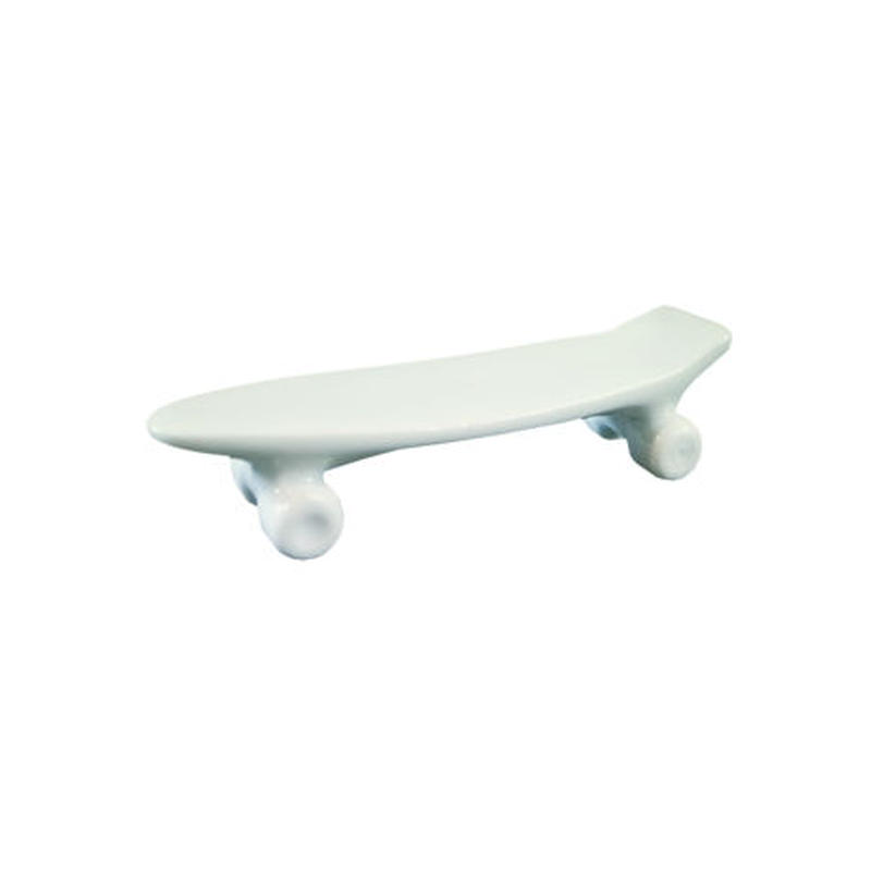 skate board chopstick rest (green)