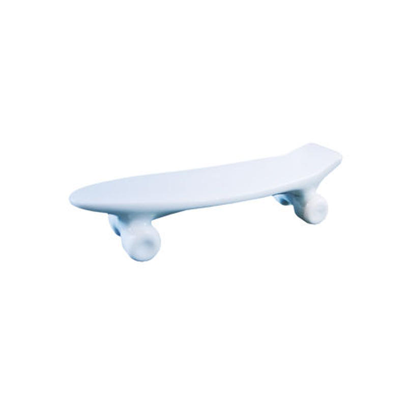 skate board chopstick rest (blue)
