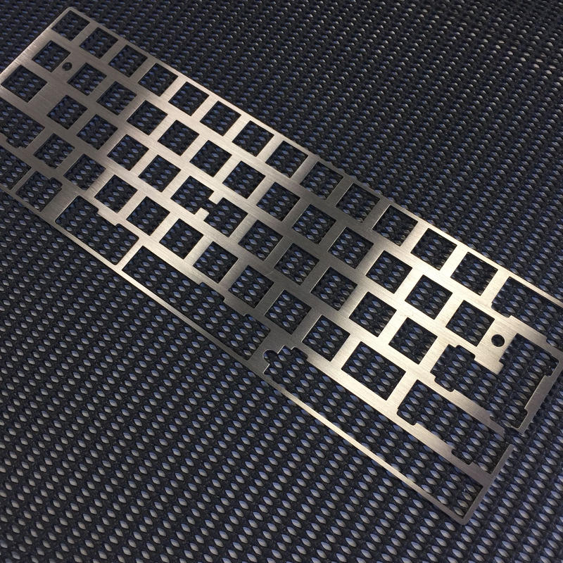 Stainless Plate for GH60 Saran (2.25 left shift)
