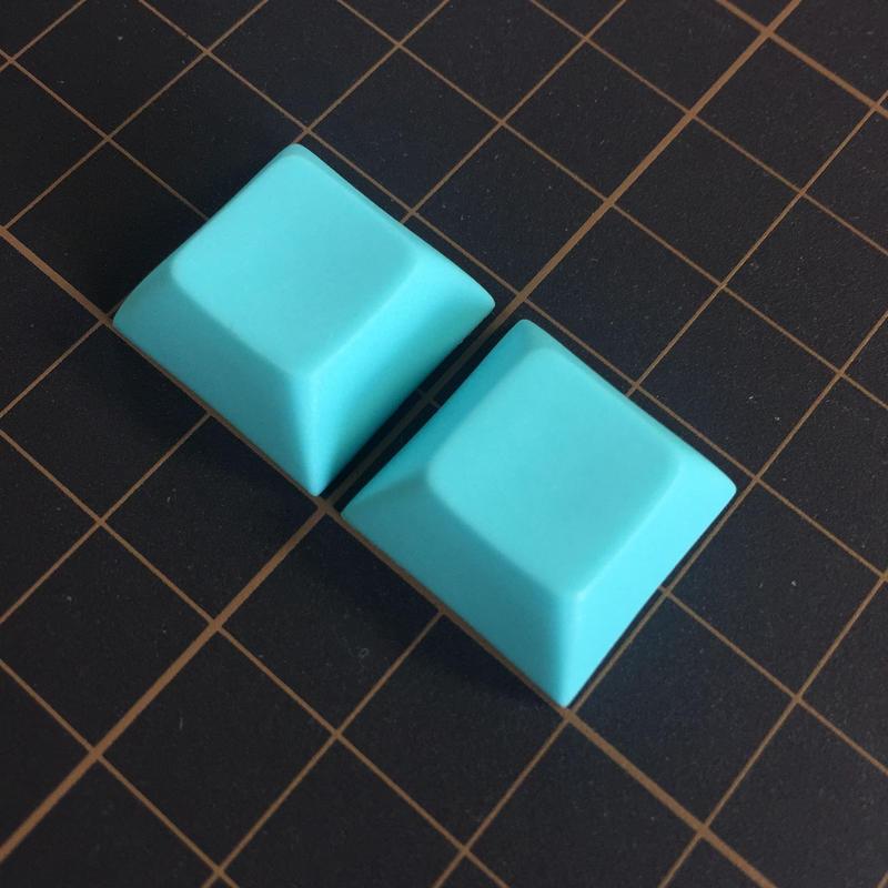 DSA PBT Keycap (2Piece/Light Blue)