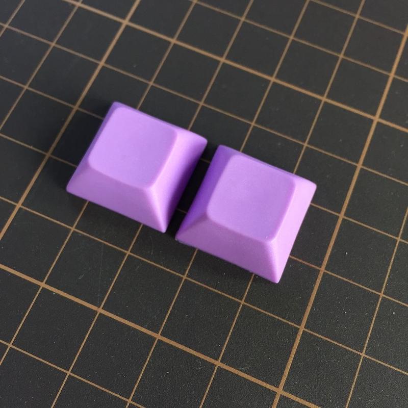 DSA PBT Keycap (2Piece/Purple)