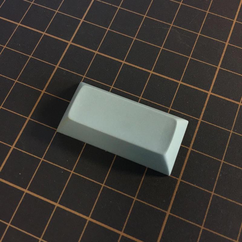 DSA PBT Keycap (1Piece/2U/Gray)
