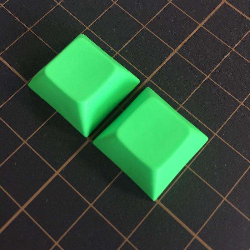 DSA PBT Keycap (2Piece/Green)
