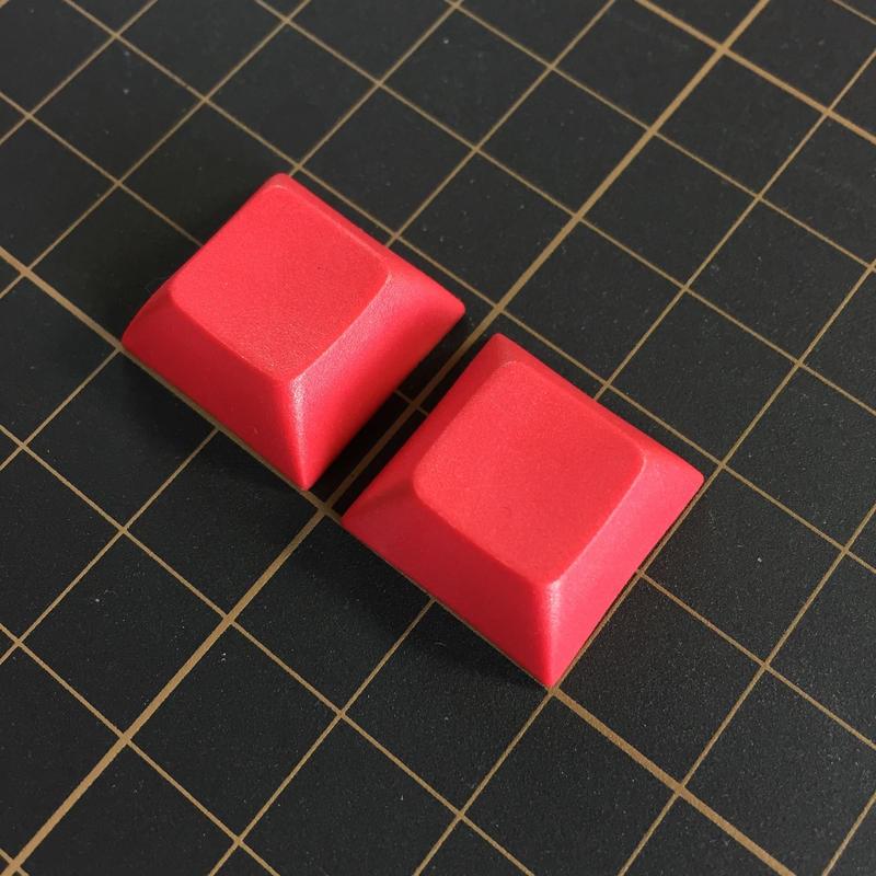 DSA PBT Keycap (2Piece/Red)