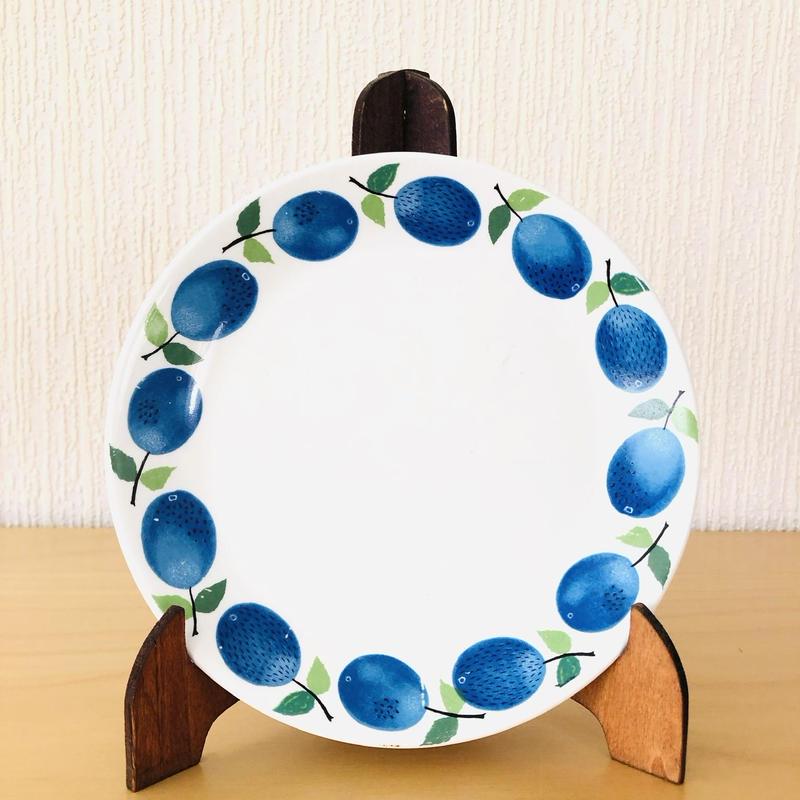 Gustavsberg/グスタフスベリ/Prunus/プルーヌス/ケーキプレート/17cm/17-01