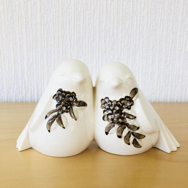DECO/デコ/Rosa Ljung/ローサ ユング/2羽のの小鳥さん/ブラウン