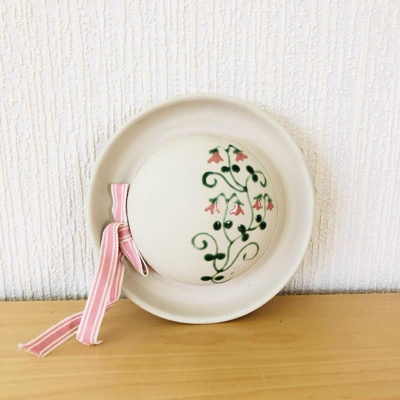 GABRIEL/ガブリエル/陶板/リネアのお花柄の帽子