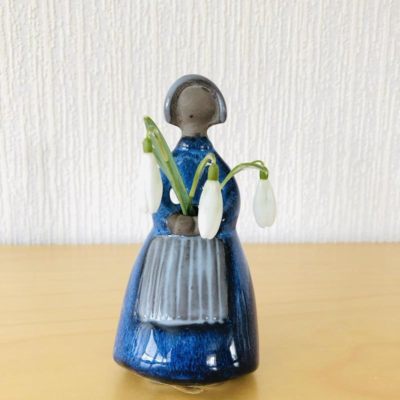Jie Gantofta/ジィ ガントフタ/フラワーガール/D.Blue/13cm