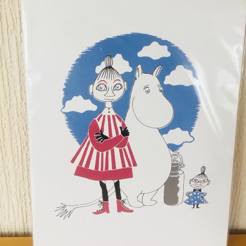 Mumin,Mimuran,Lilla My/Affisch/ムーミン、ミムラ姉さん、リトルミイ/ポスター