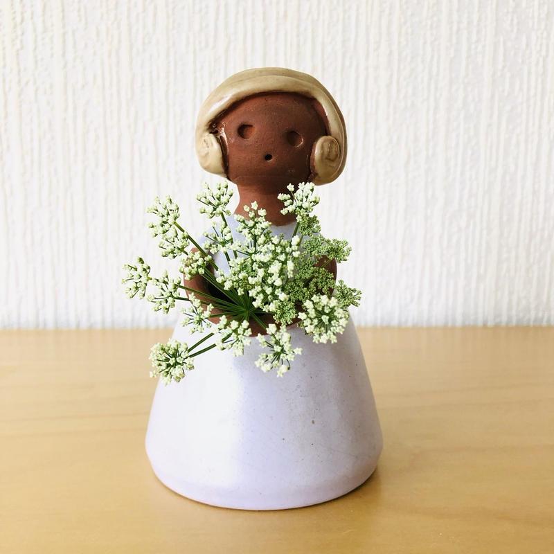 Elbogen Keramik/エルボーゲン セラミック/フラワーガール/パステルピンク
